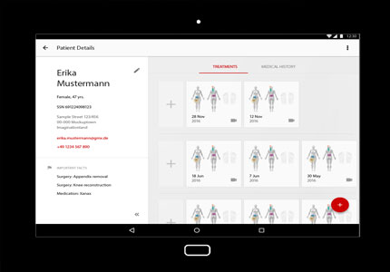 Referenz: FDM Care App,