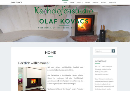 Referenz: Kachelofenstudio, AdWords und SEO