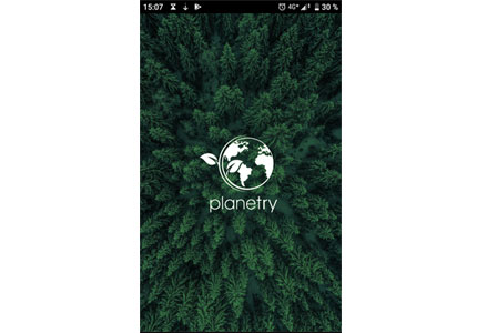 Referenz: Planetry, App für Android