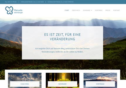 Referenz: Timetochange, Webdesign und SEO